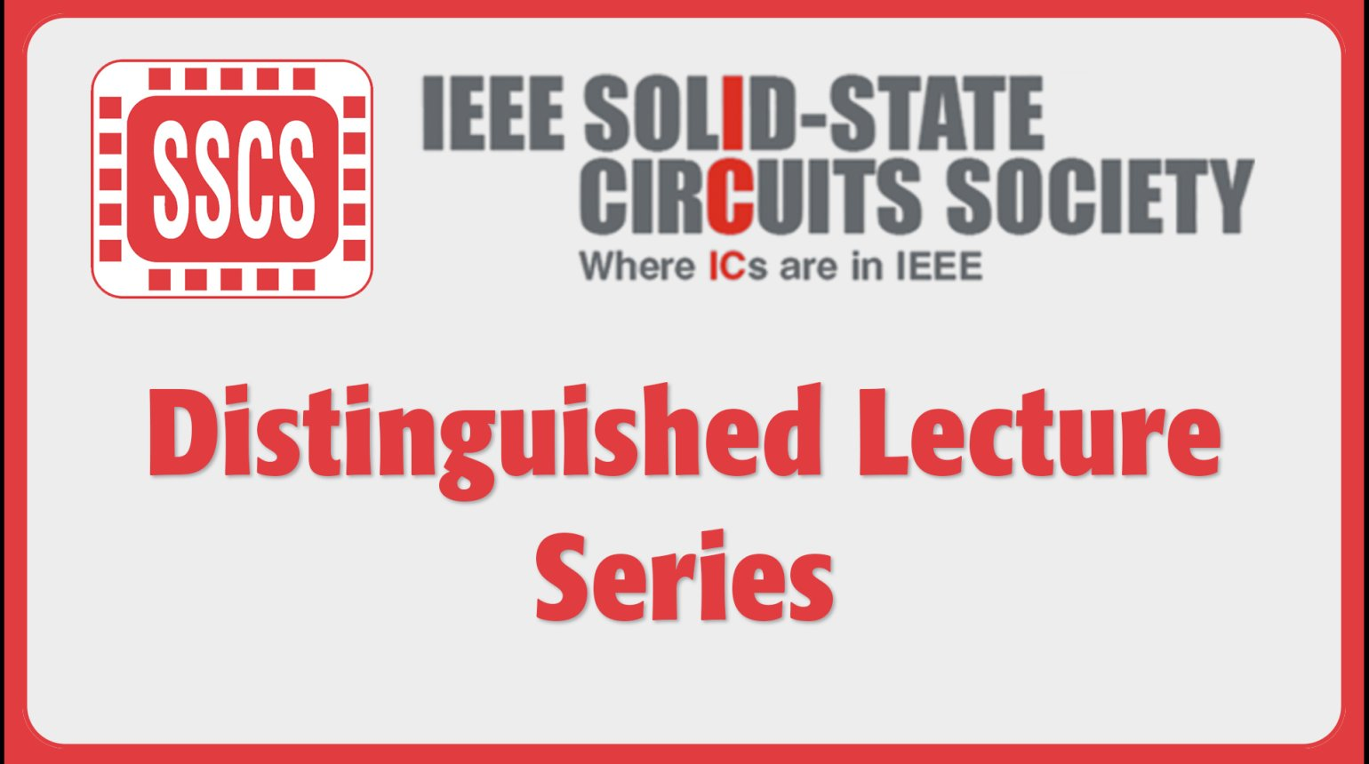 SSCS Distinguished Lecture Series
