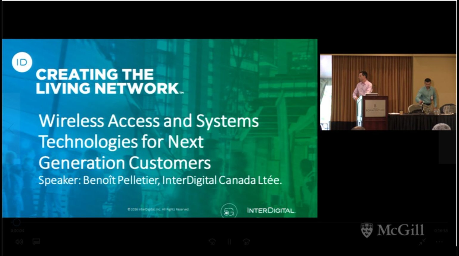 Video - Customer Service Network in 5G: Pelletier