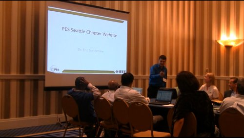 PES Seattle Chapter Website (Video)