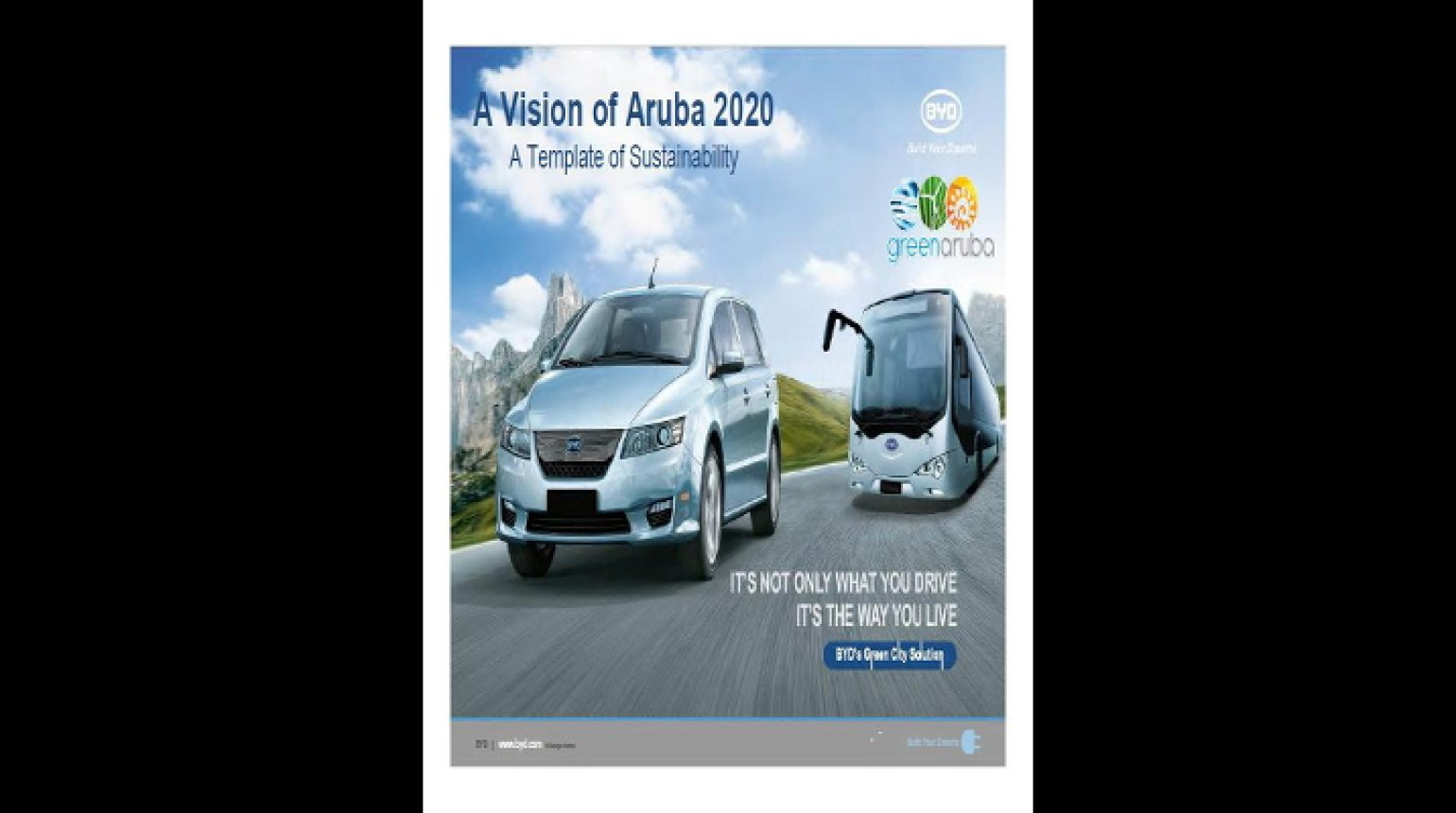 Video - A Vision of Aruba 2020, A Template for Susatianability