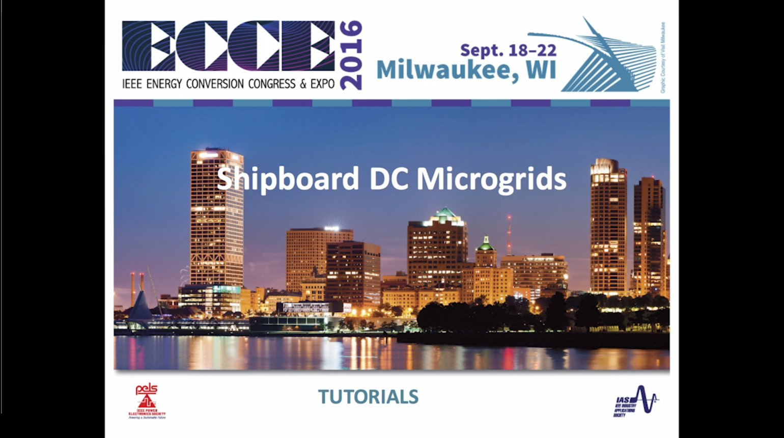 Shipboard DC Microgrids