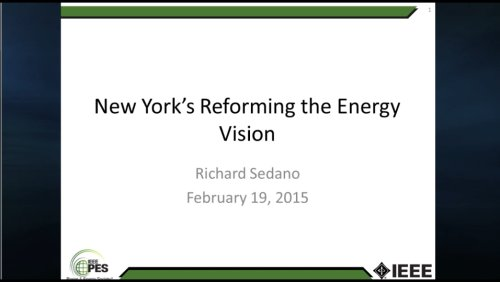 New York's Reforming the Energy Vision (Video)