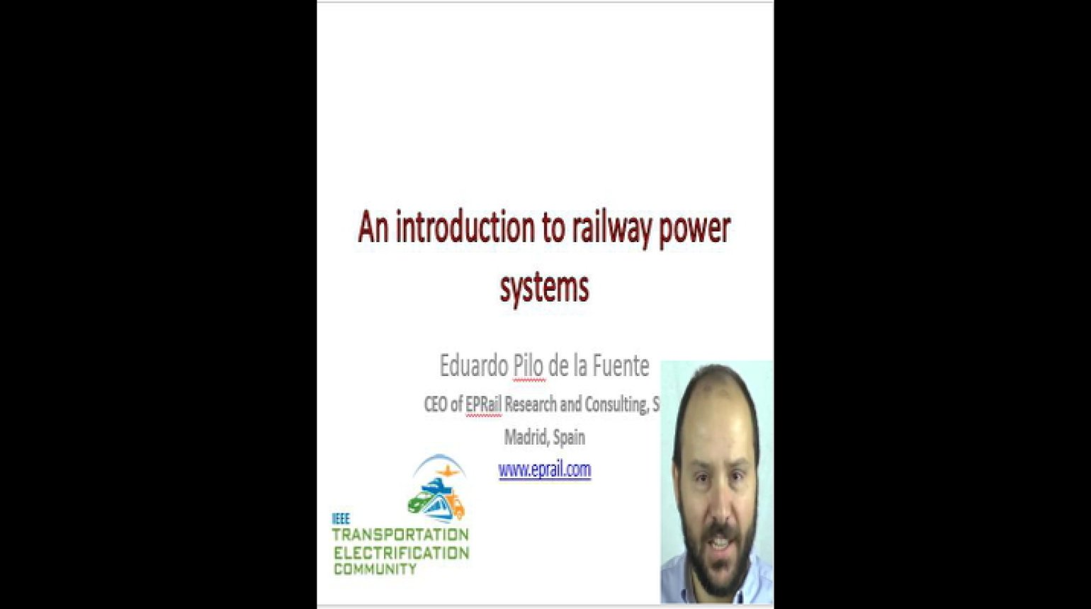 Video - An Introduction to Railway Power Systems
