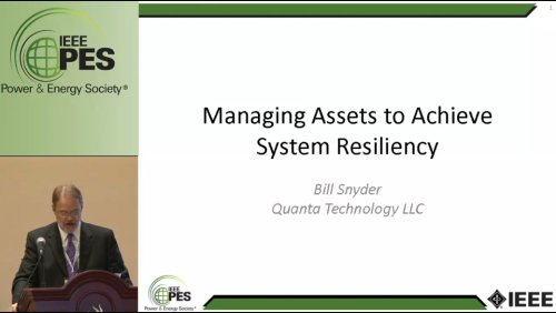 Managing Assets to Achieve System Resiliency (Video)