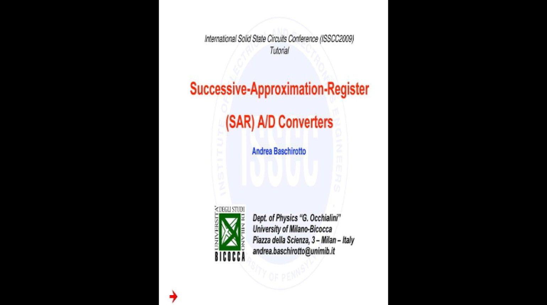 SAR ADCs Video