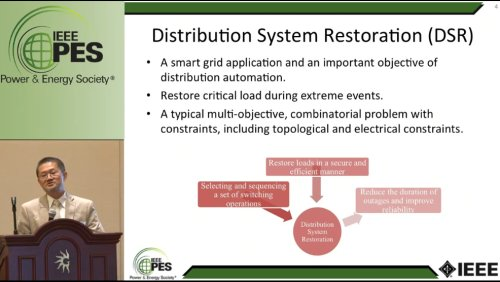 Response and Recovery of the Distribution Grid during Extreme Events (Video)