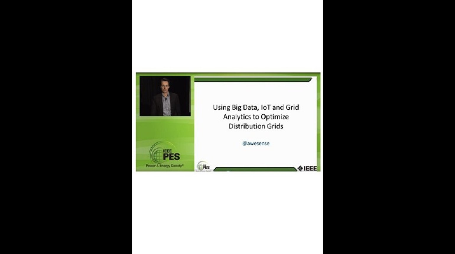 2016 PES GM Tutorial - Smart Grid Data and Analytics - Part 3