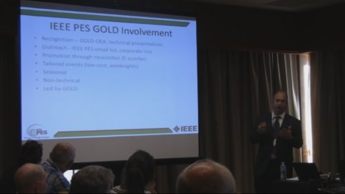 IEEE PES GOLD Involvement (Video)