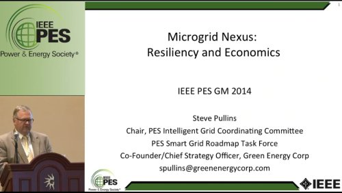 Microgrid Nexus: Resiliency and Economics (Video)