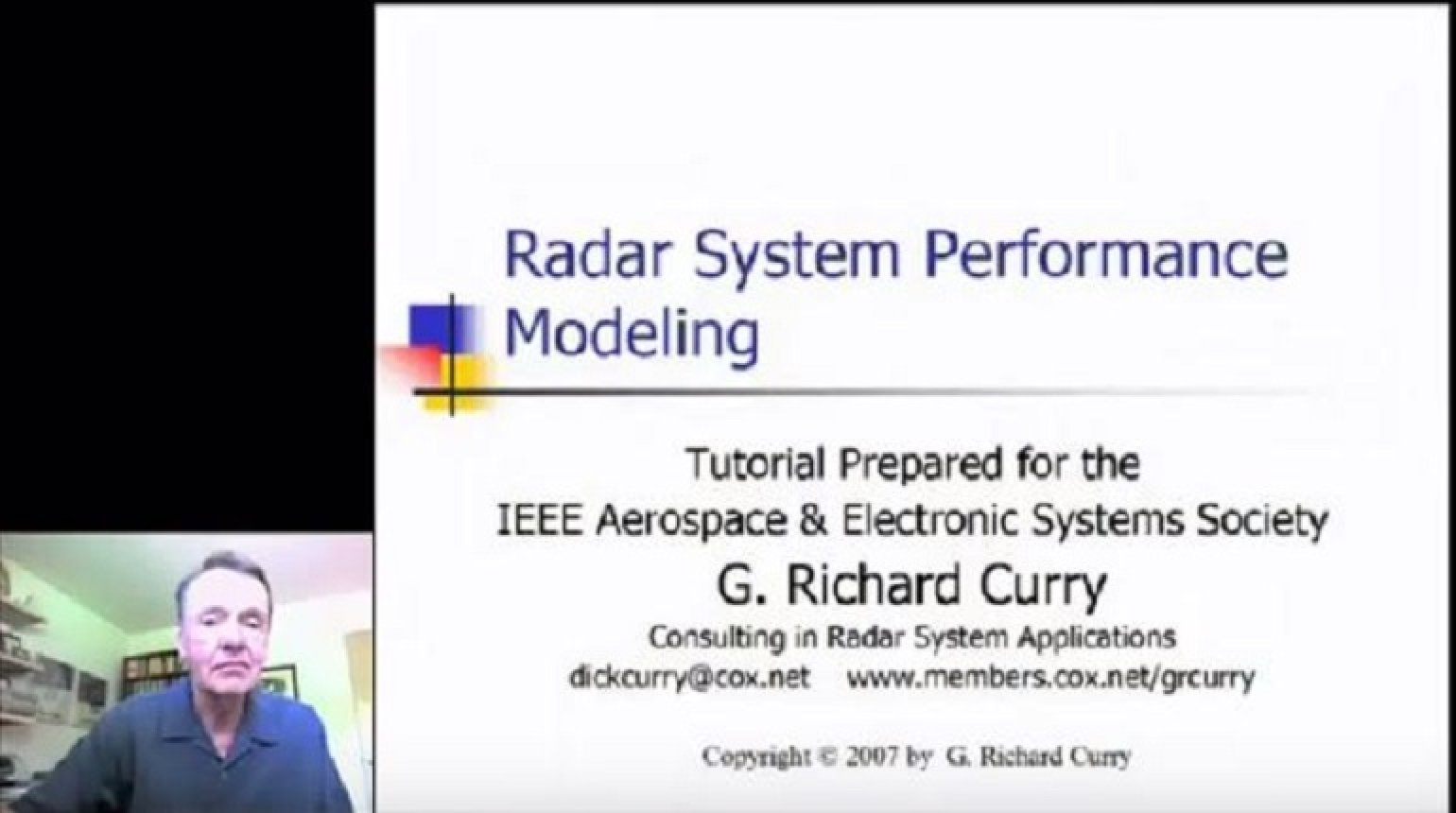 Radar System Performance Modeling Part 1