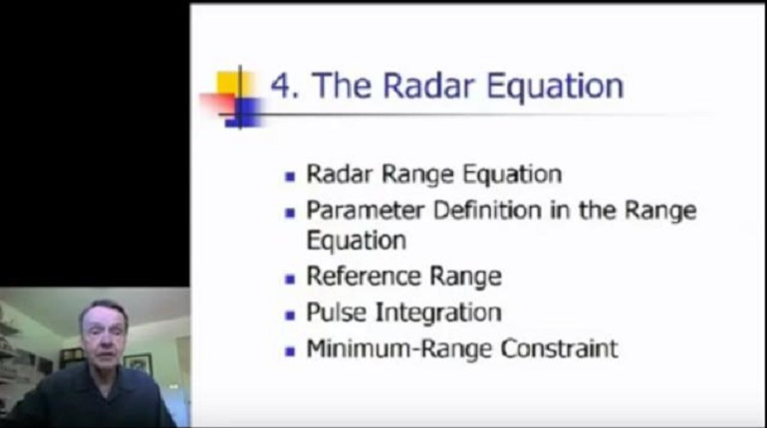 Radar System Performance Modeling Part 3