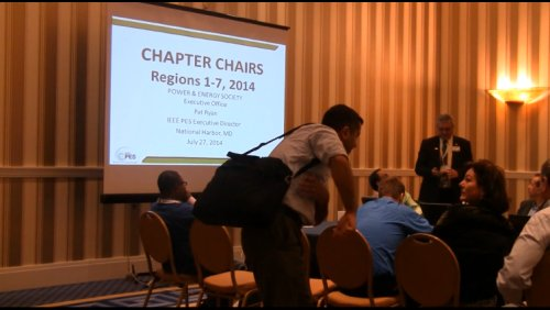 Chapter Chairs (Video)