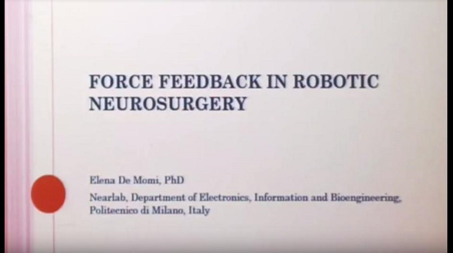 Force sensing in robotic neurosurgery