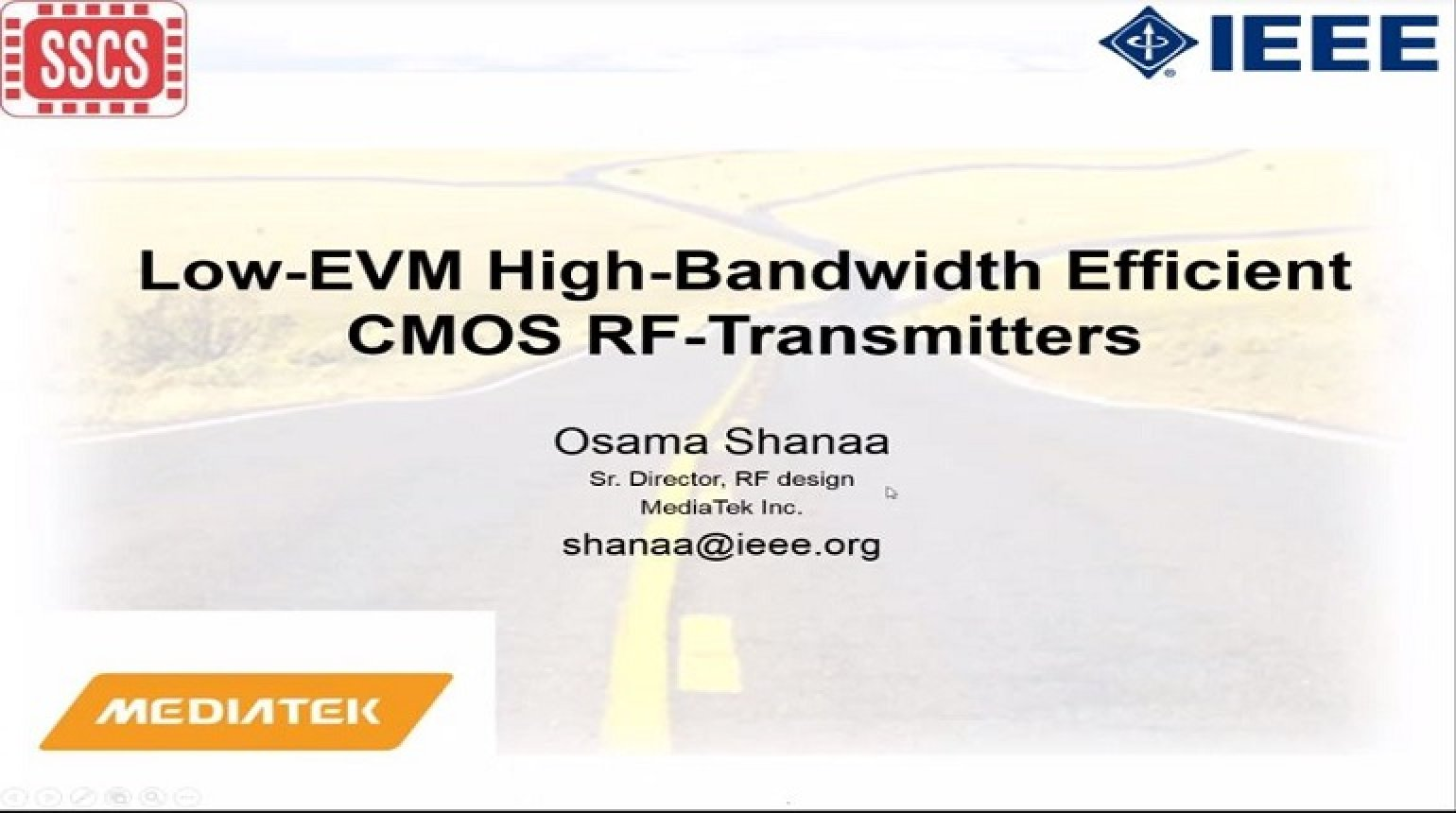 Low-EVM High-Bandwidth Efficient CMOS RF-Transmitters Video