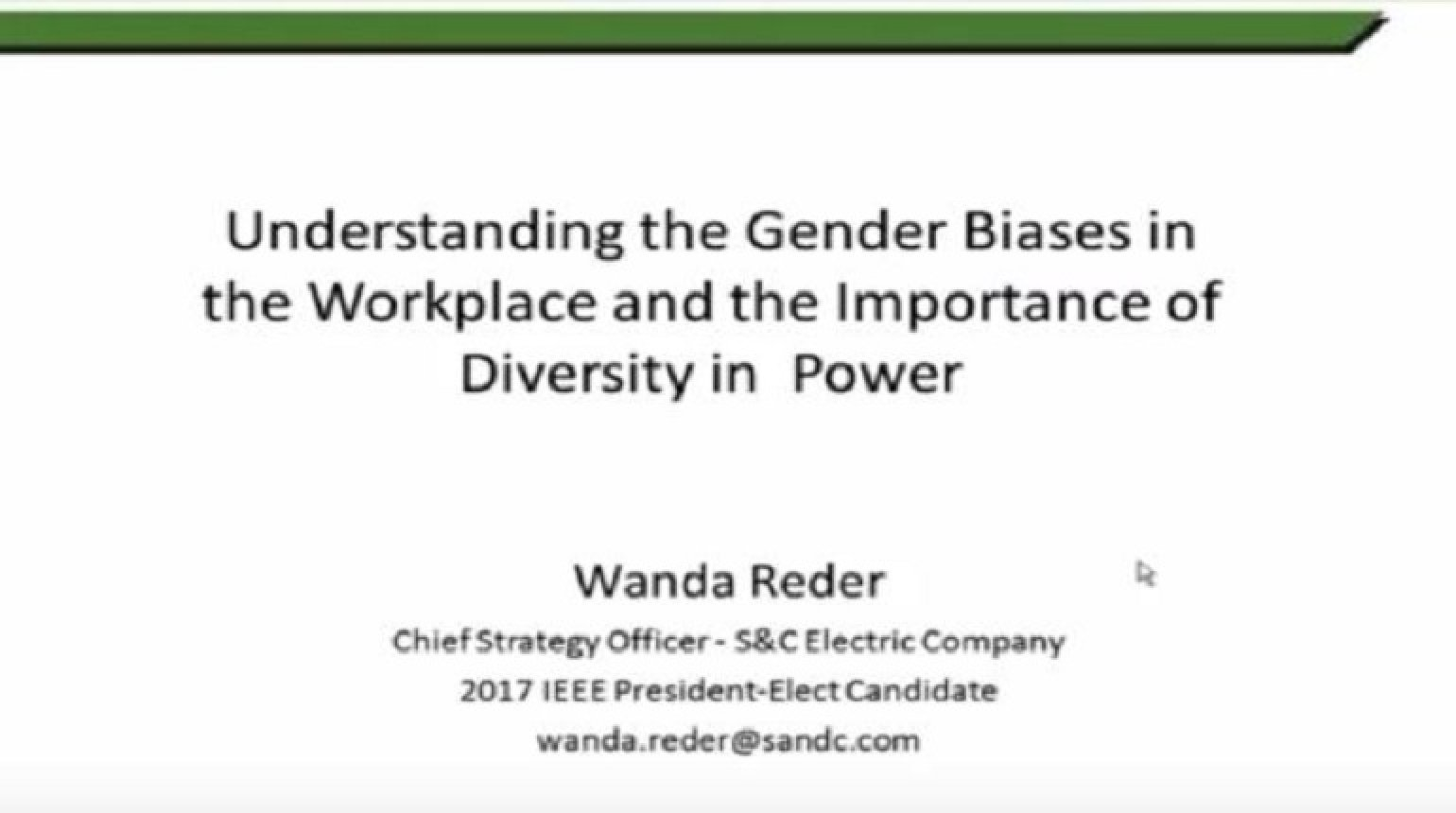 Understanding the Gender Biases in the Workplace and the Importance of Diversity in Power