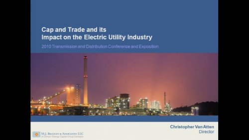Cap and Trade and its Impact on the Electric Utility Industry (Video)