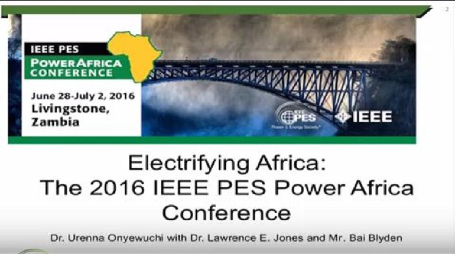 Electrifying Africa Power Grid