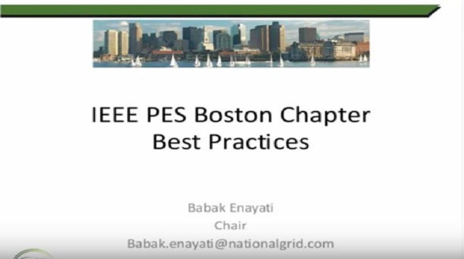 PES Boston Best Practices
