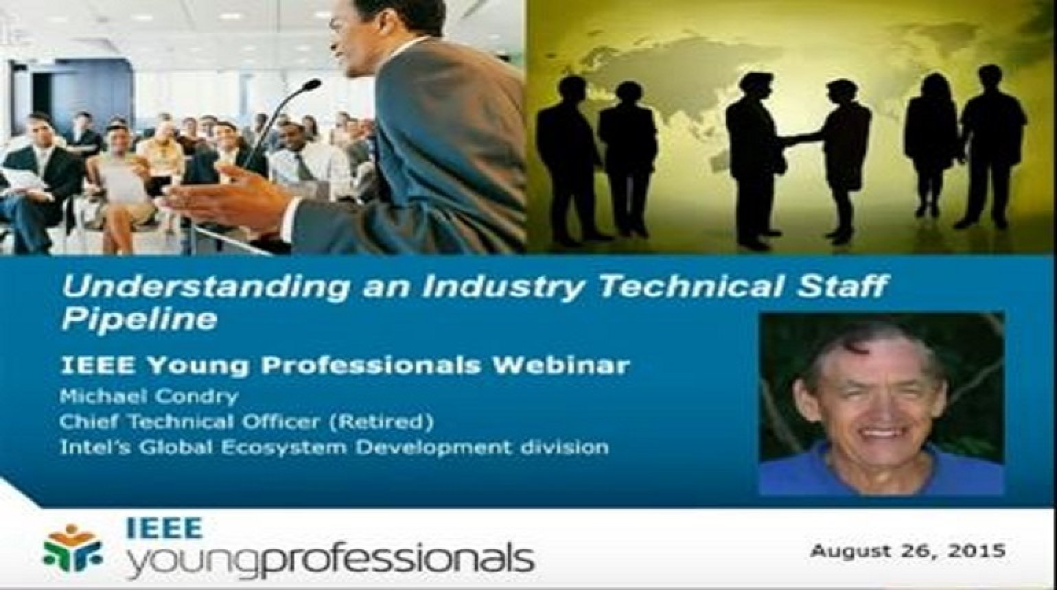 Understanding an Industry Technical Staff Pipeline Video