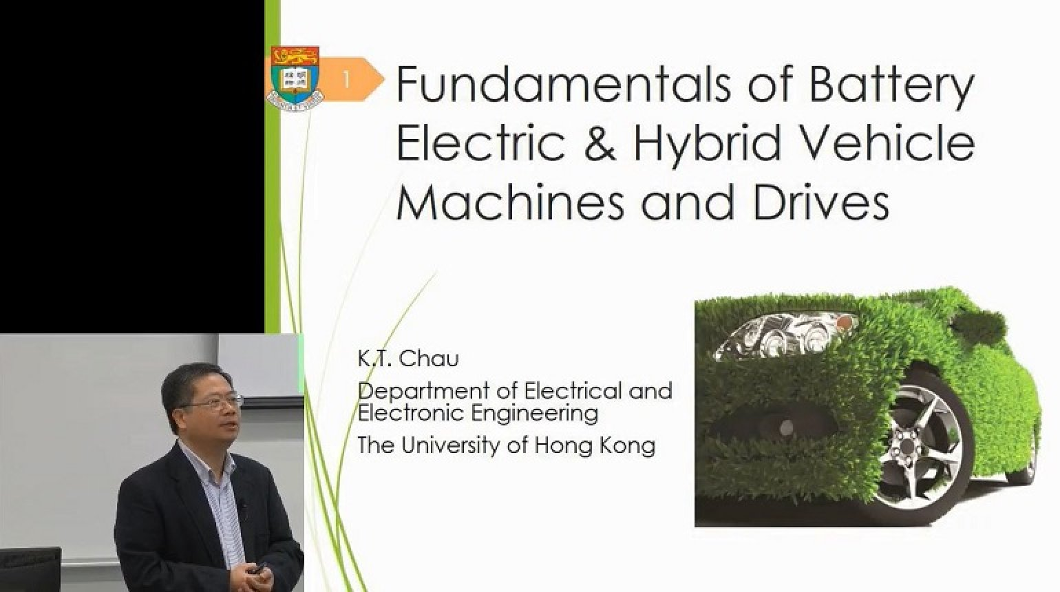 Video - Fundamentals of Battery Electric and Hybrid Vehicle Machines and Drives
