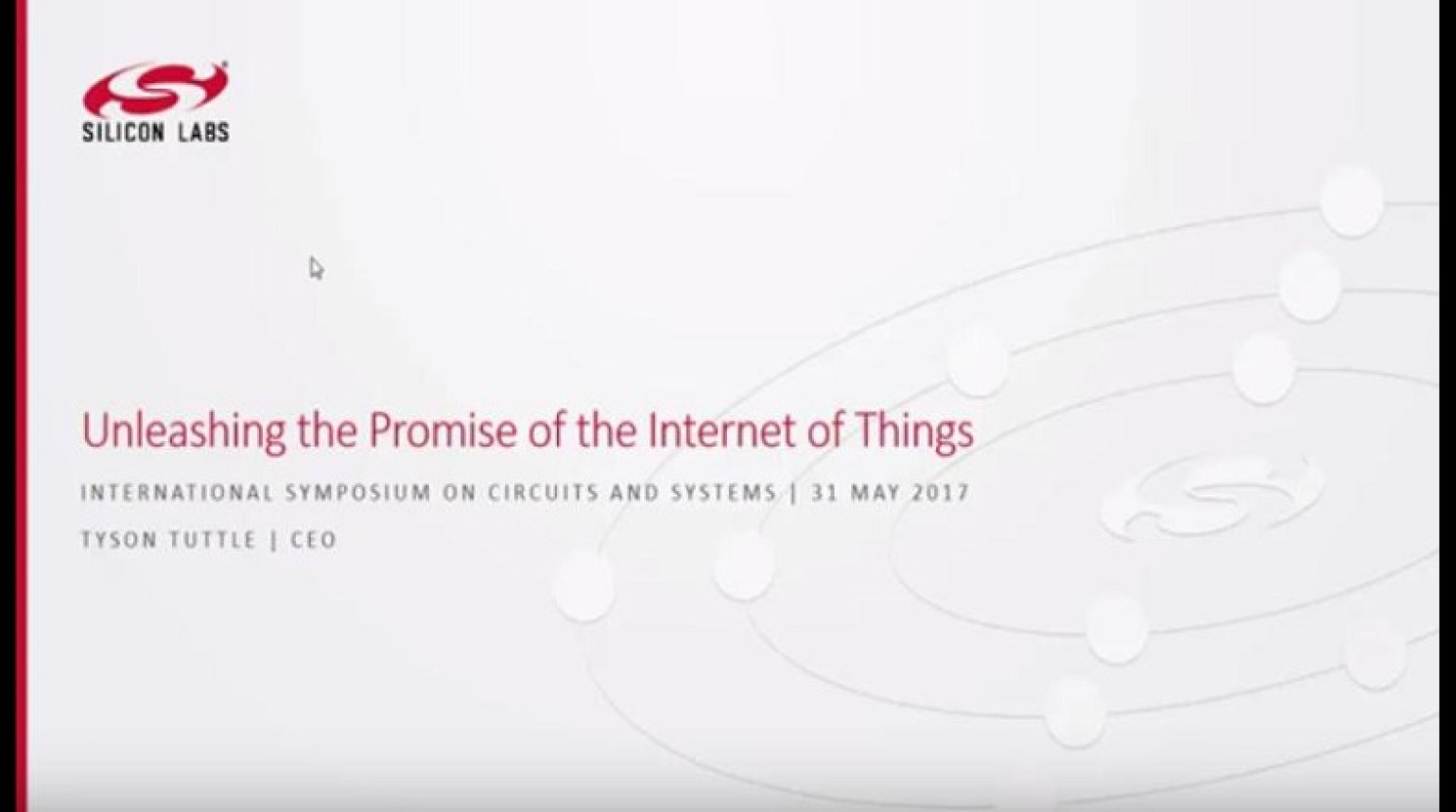Unleashing the Promise of the Internet of Things