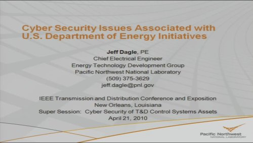 Utility Renewable Technologies and T&D Integration Issues: A Case Study (Video)