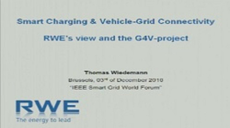 IEEE Smart Grid World Forum - Thomas Wiedemann