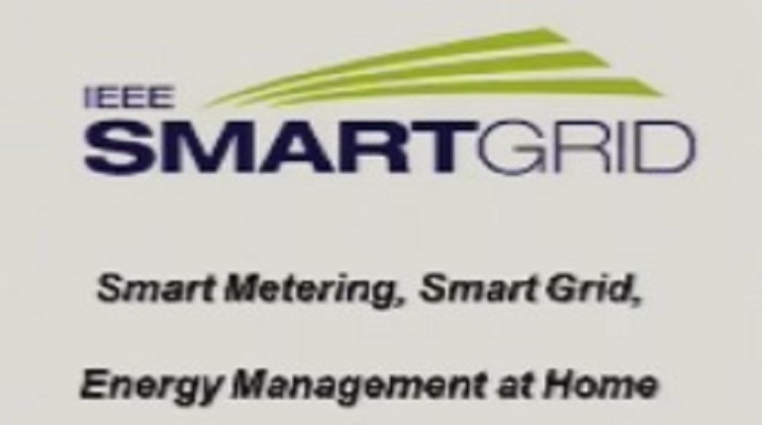 IEEE Smart Grid World Forum - Mark B.M. Ossel