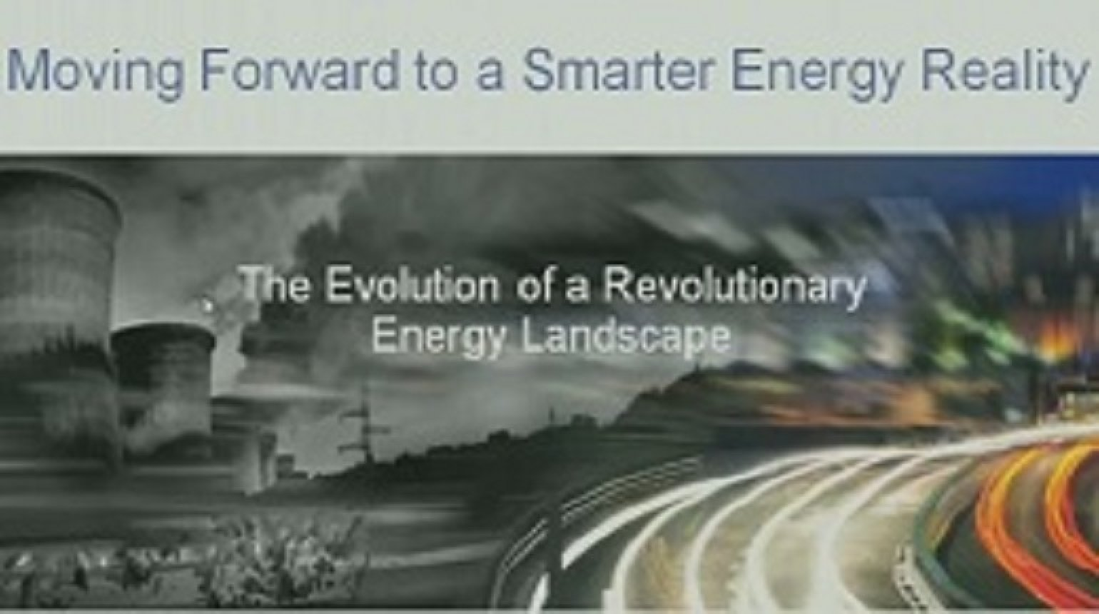 IEEE Smart Grid World Forum - Bob Gilligan