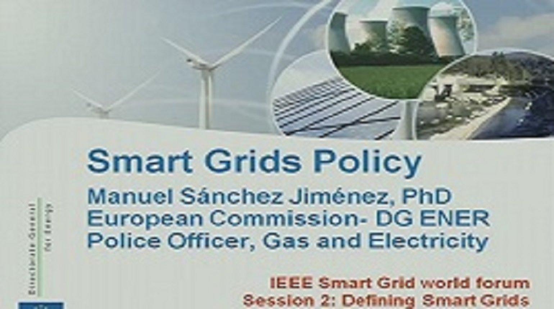 IEEE Smart Grid World Forum - Manuel Sanchez Jimenez