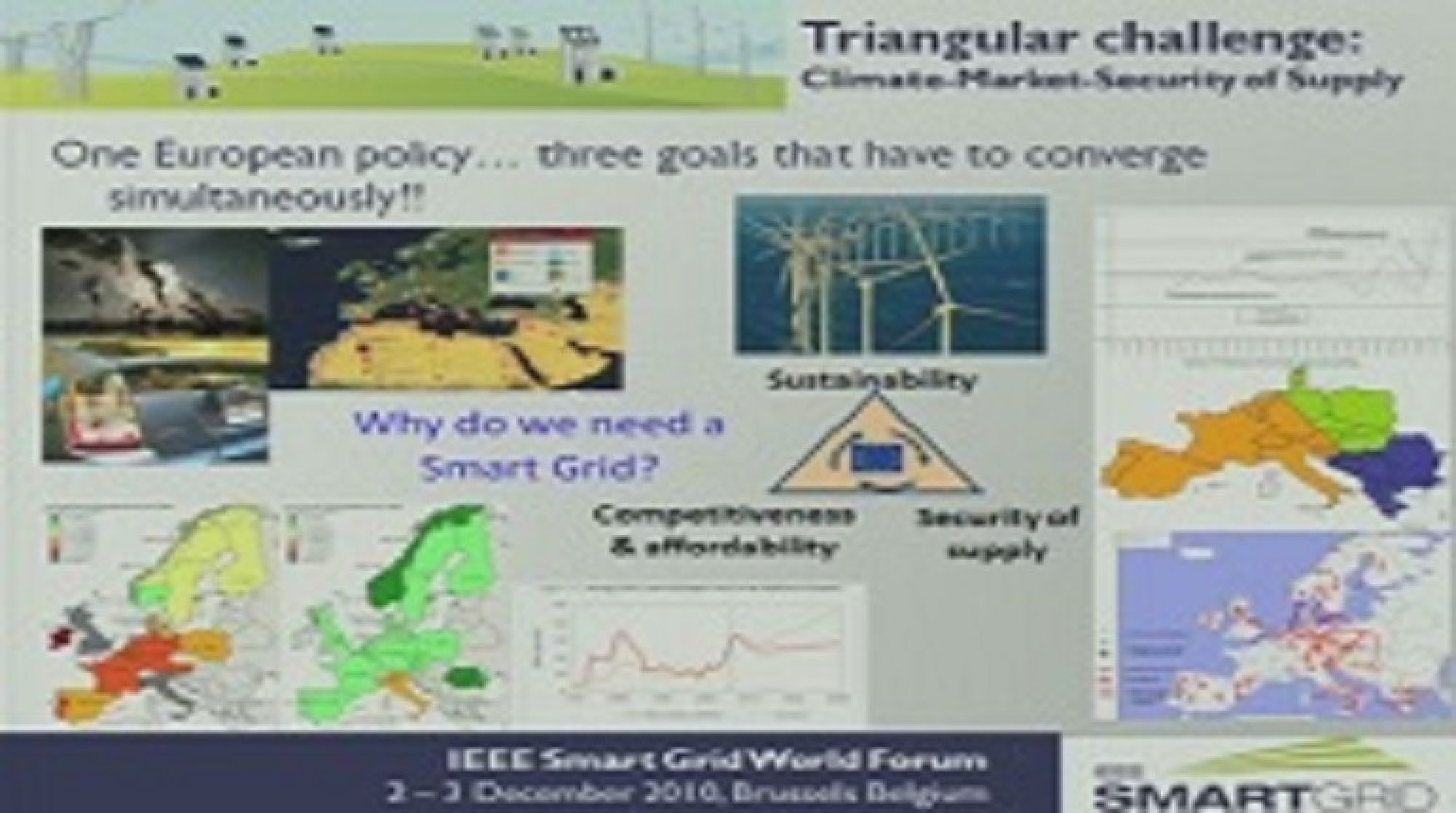 IEEE Smart Grid World Forum - Ronnie Belmans