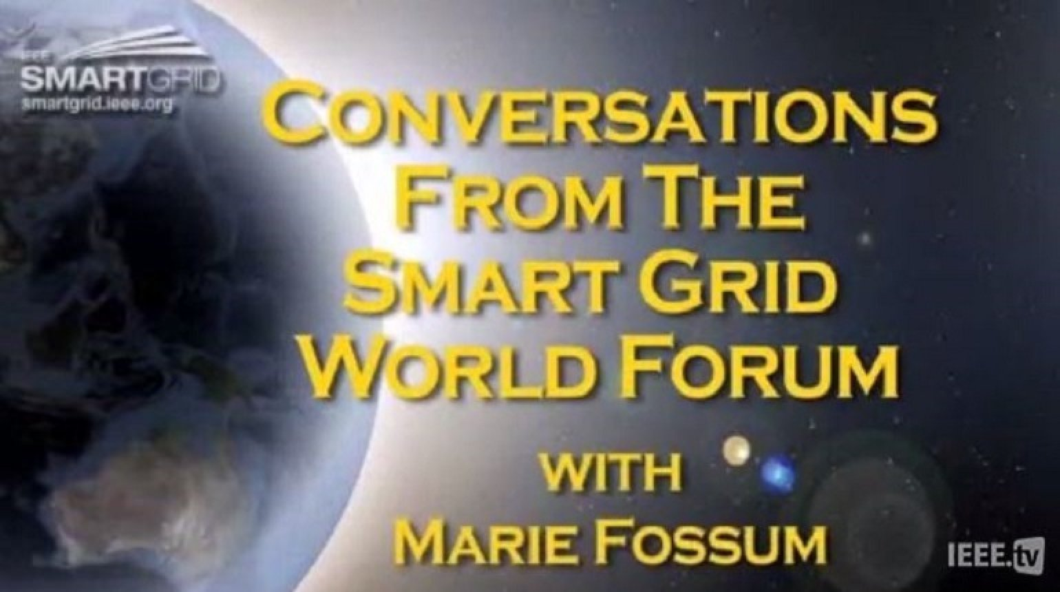 Stockholm Seaport Program and the Smart Grid: Marie Fossum