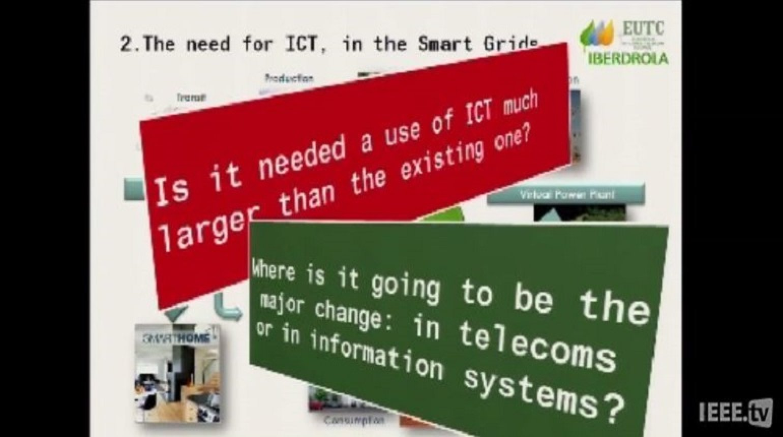 IEEE Smart Grid Word Forum - Miguel A  Sanchez Fornie