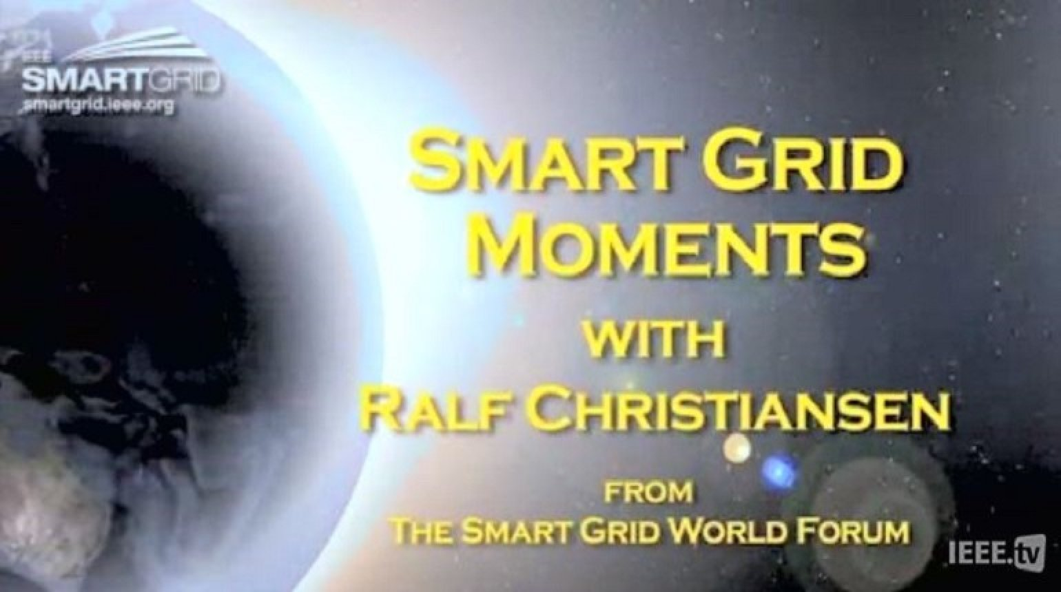 Renewables, Consumption and the Smart Grid: Ralf Christian