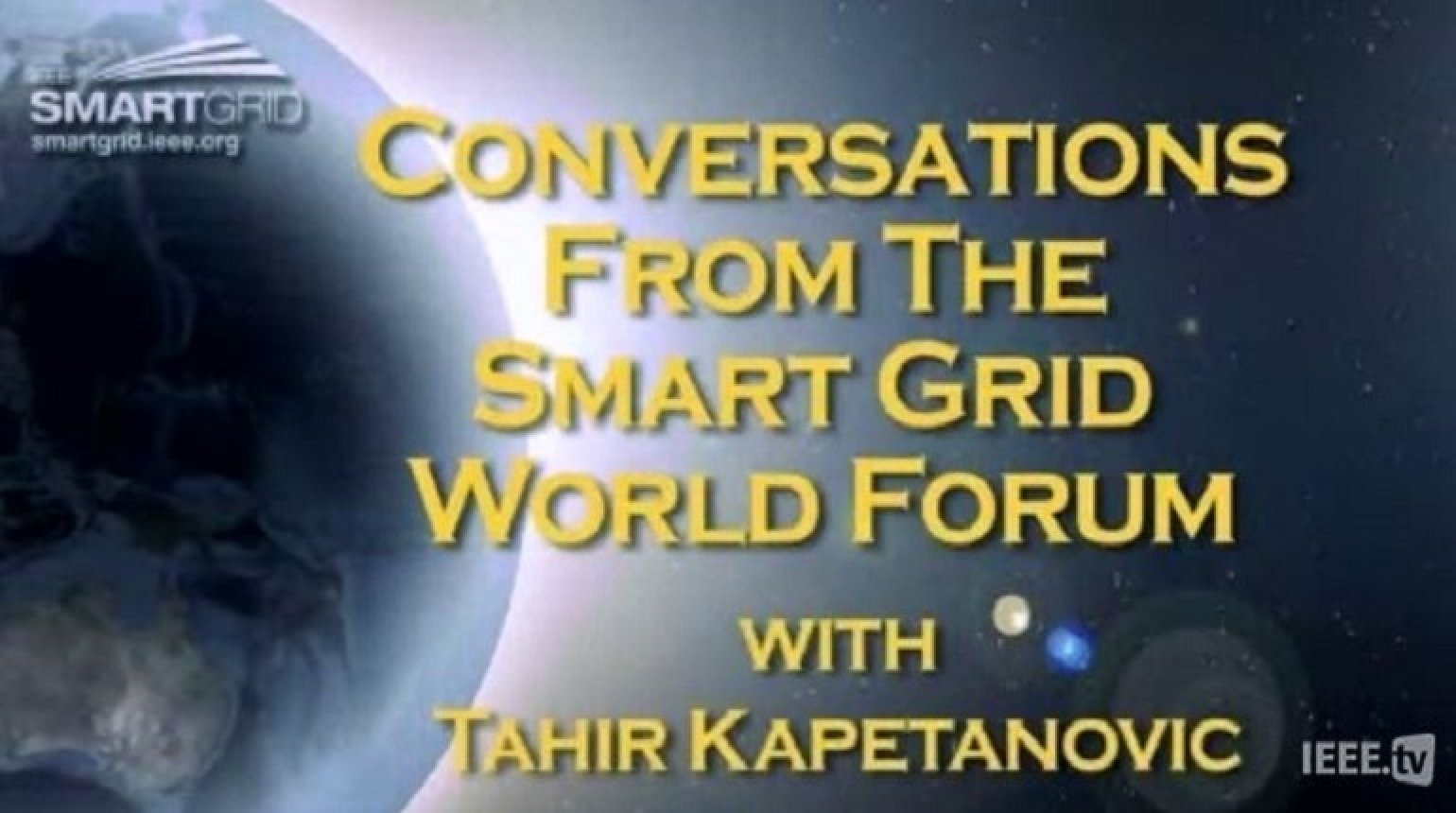 Smart Grid as a Service Provider: Tahir Kapentanovic