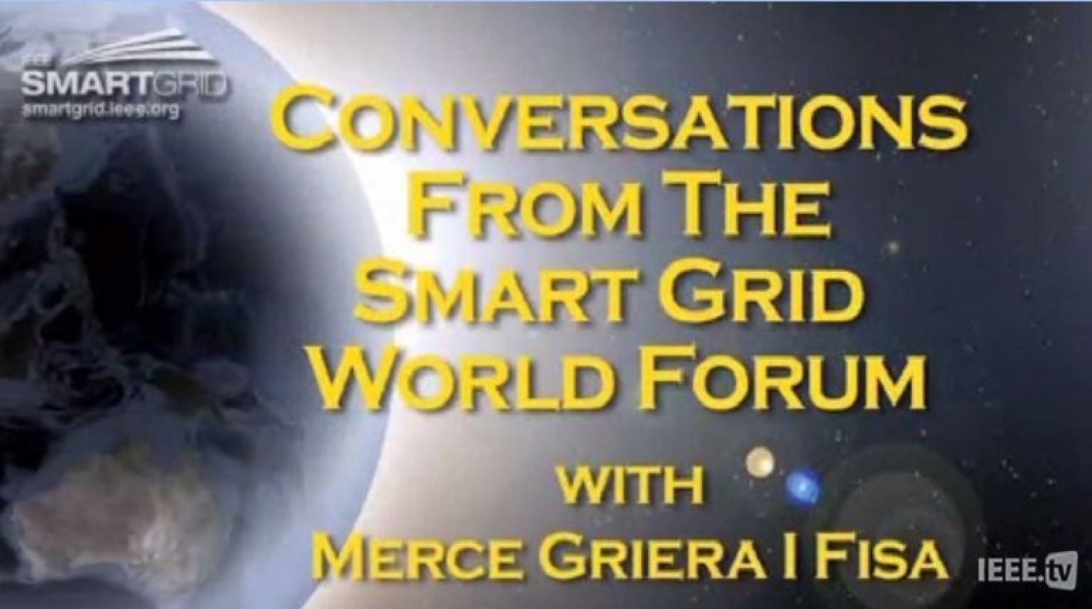 Energy Efficiency and the European Smart Grid: Merce Griera I Fisa