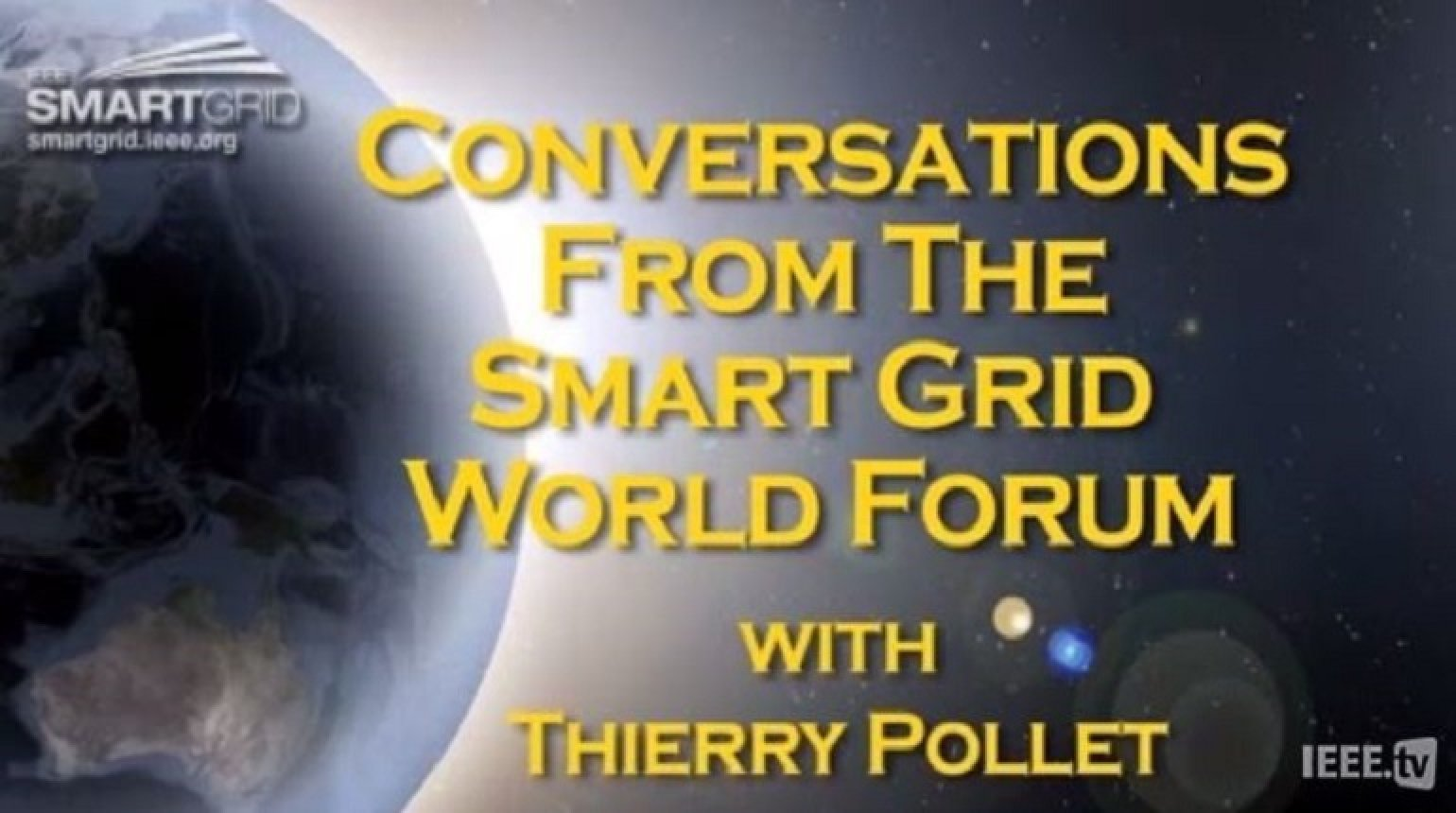 Distribution Networks and the Smart Grid: Thierry Pollet