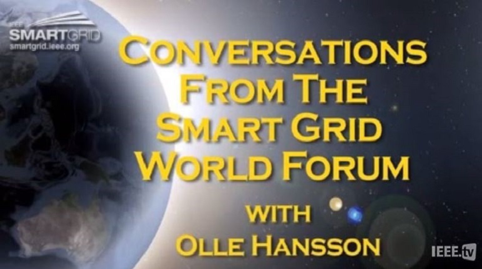 Sustainable Energy and Smart Grid: Olle Hansson