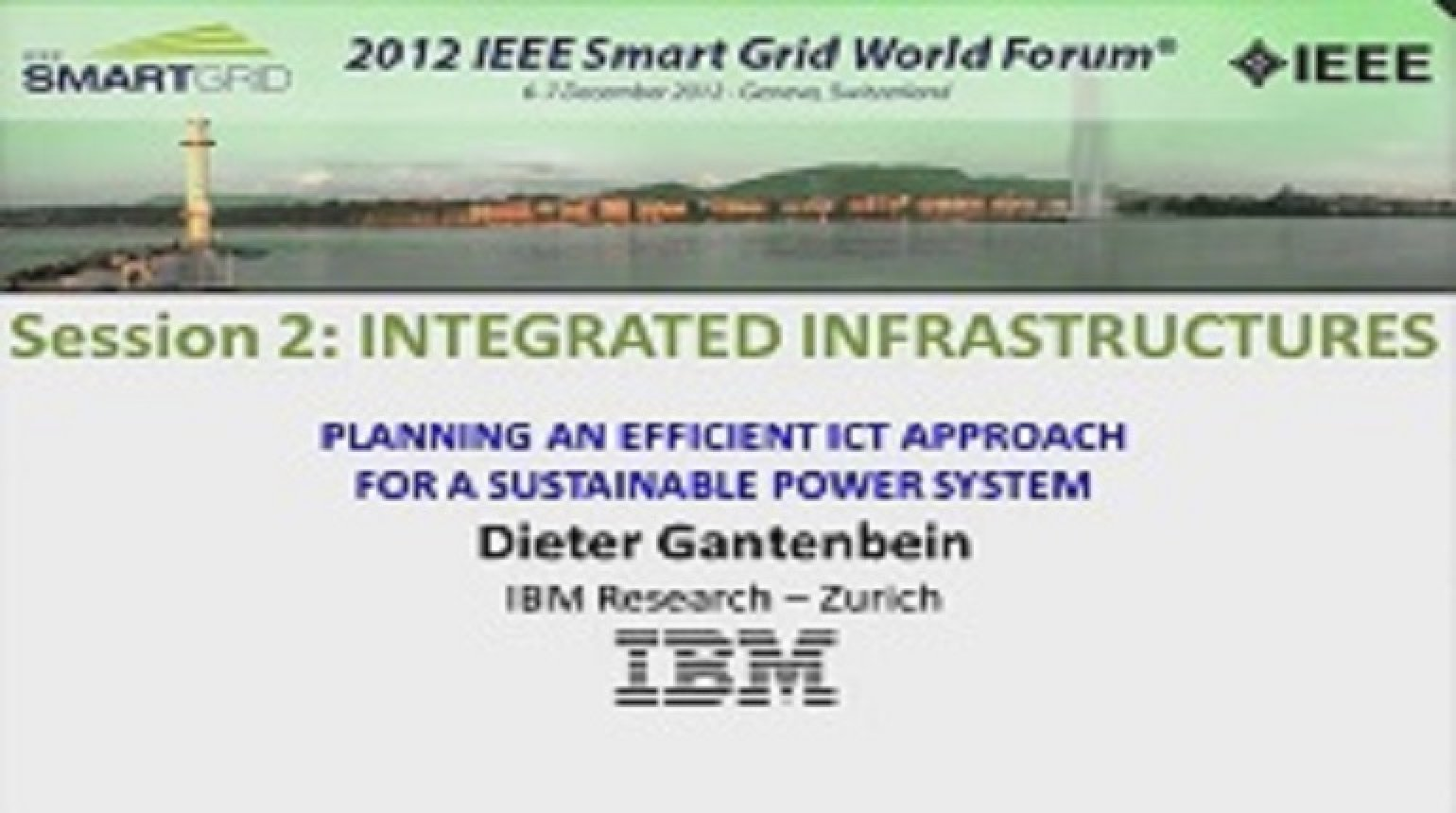 Planning an Efficient ICT Approach: Dieter Gantenbein