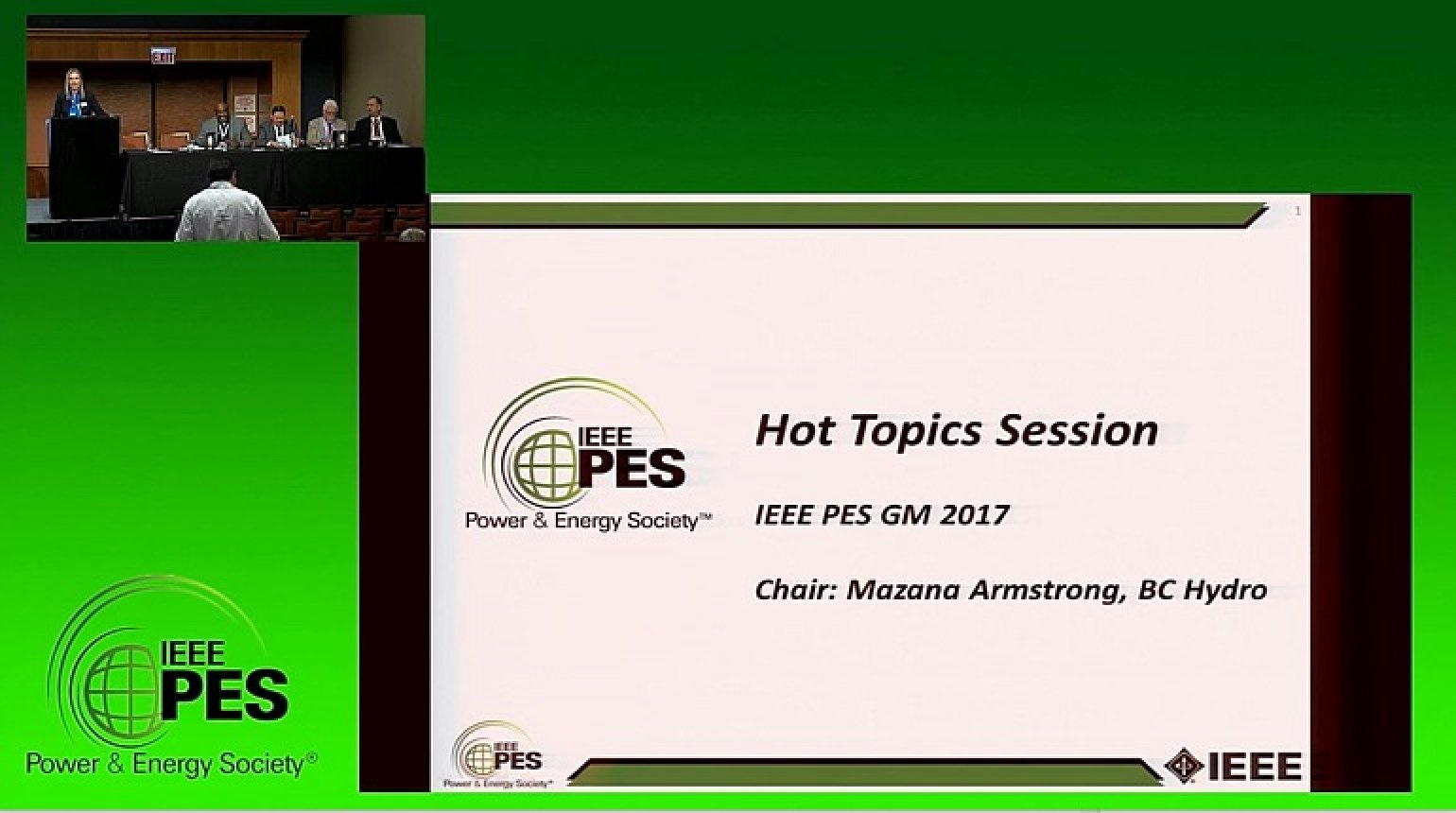PES GM 2017 - Power and Energy Hot Topics Super Session Part 2