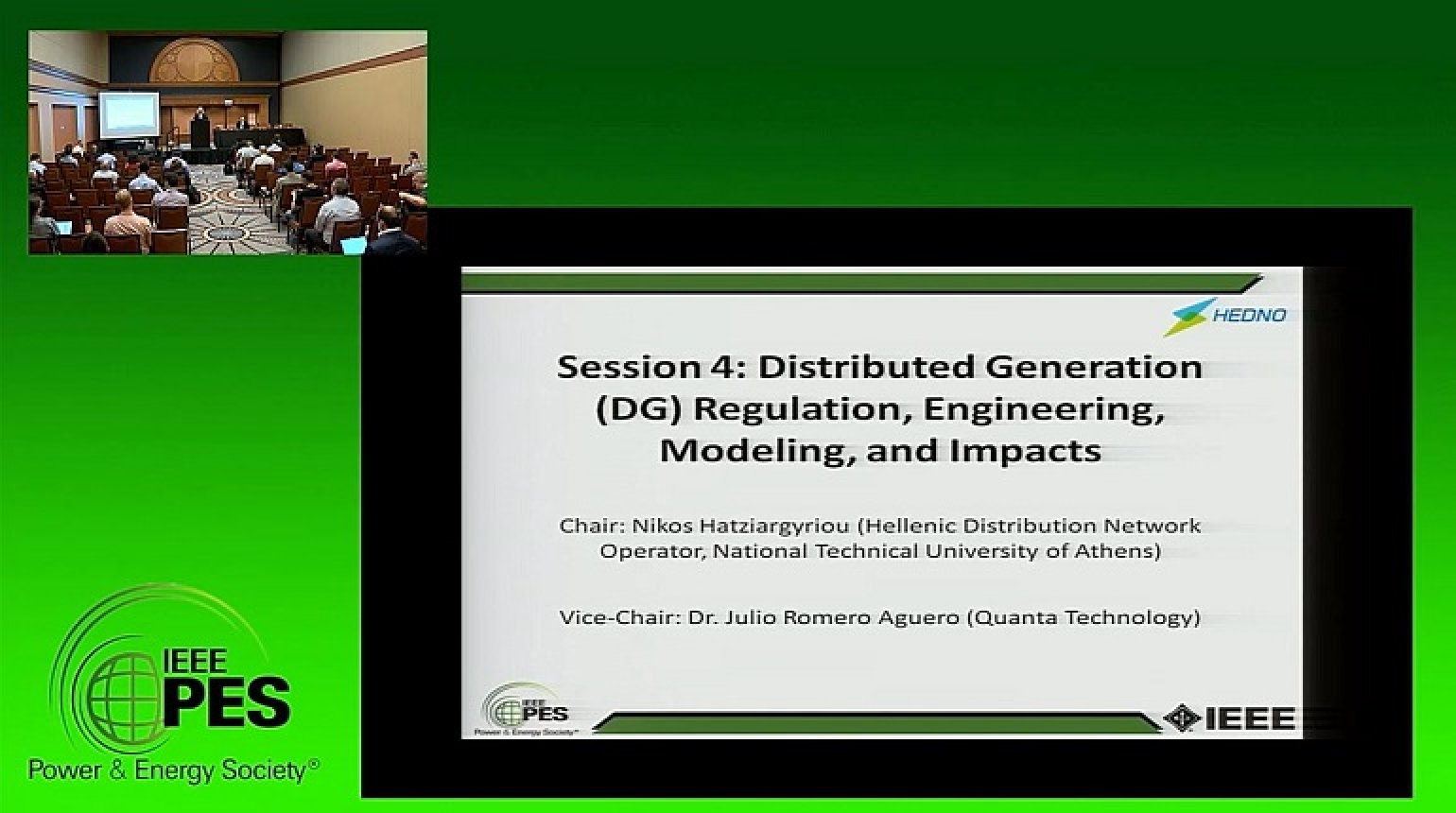 PES GM 2017 - Distributed Generation (DG), Regulation, Engineering, Modeling, and Impacts Super Session