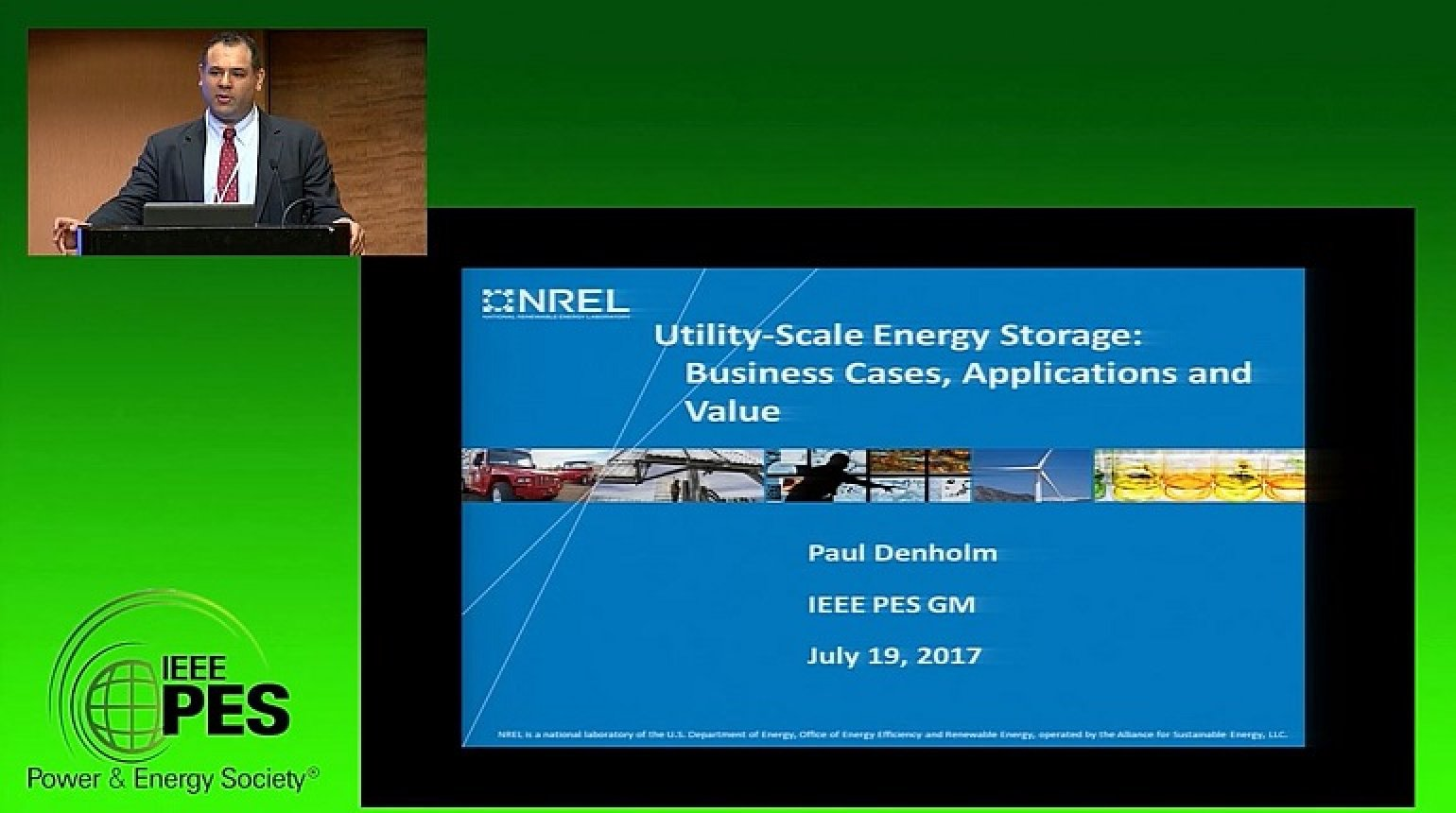 PES GM 2017 - Energy Storage Super Session