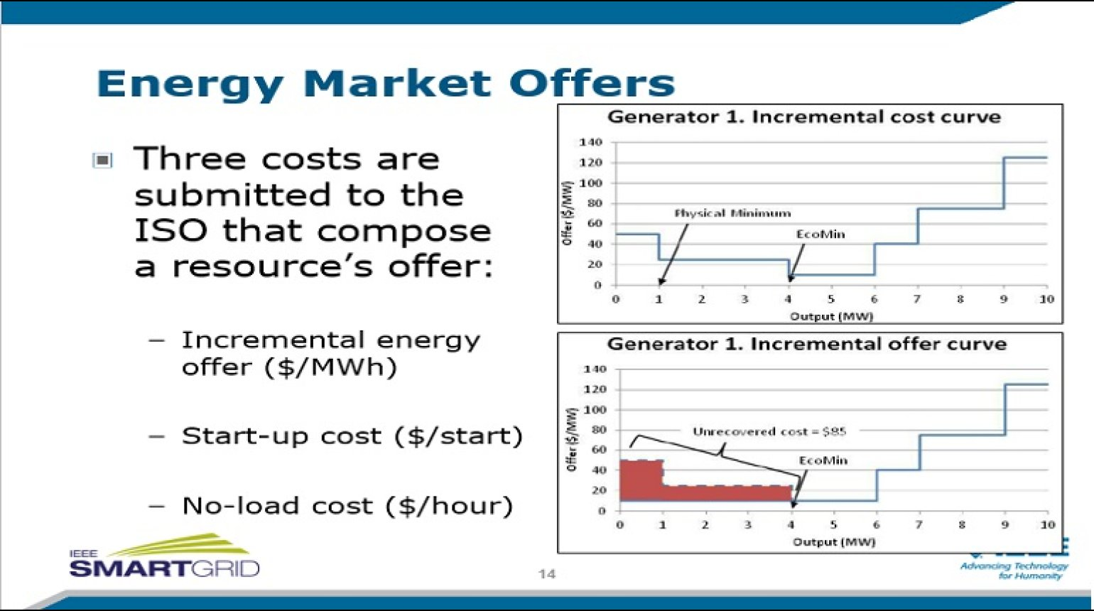 Wholesale Electricity Market Modeling and Pricing presented by Dr. Anthony Giacomoni - Session 2