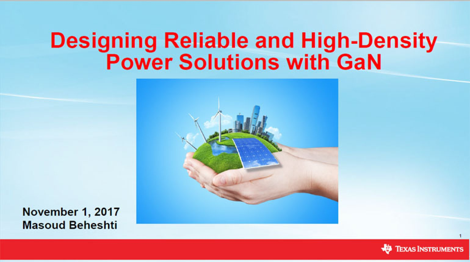 Designing reliable and high-density power solutions with GaN Video