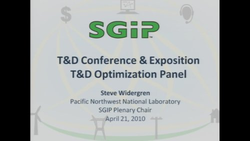 T&D Optimization Panel (Video)