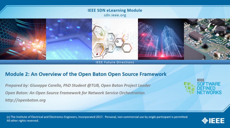 Open Baton Module 2: An Overview of the Open Baton Open Source Framework