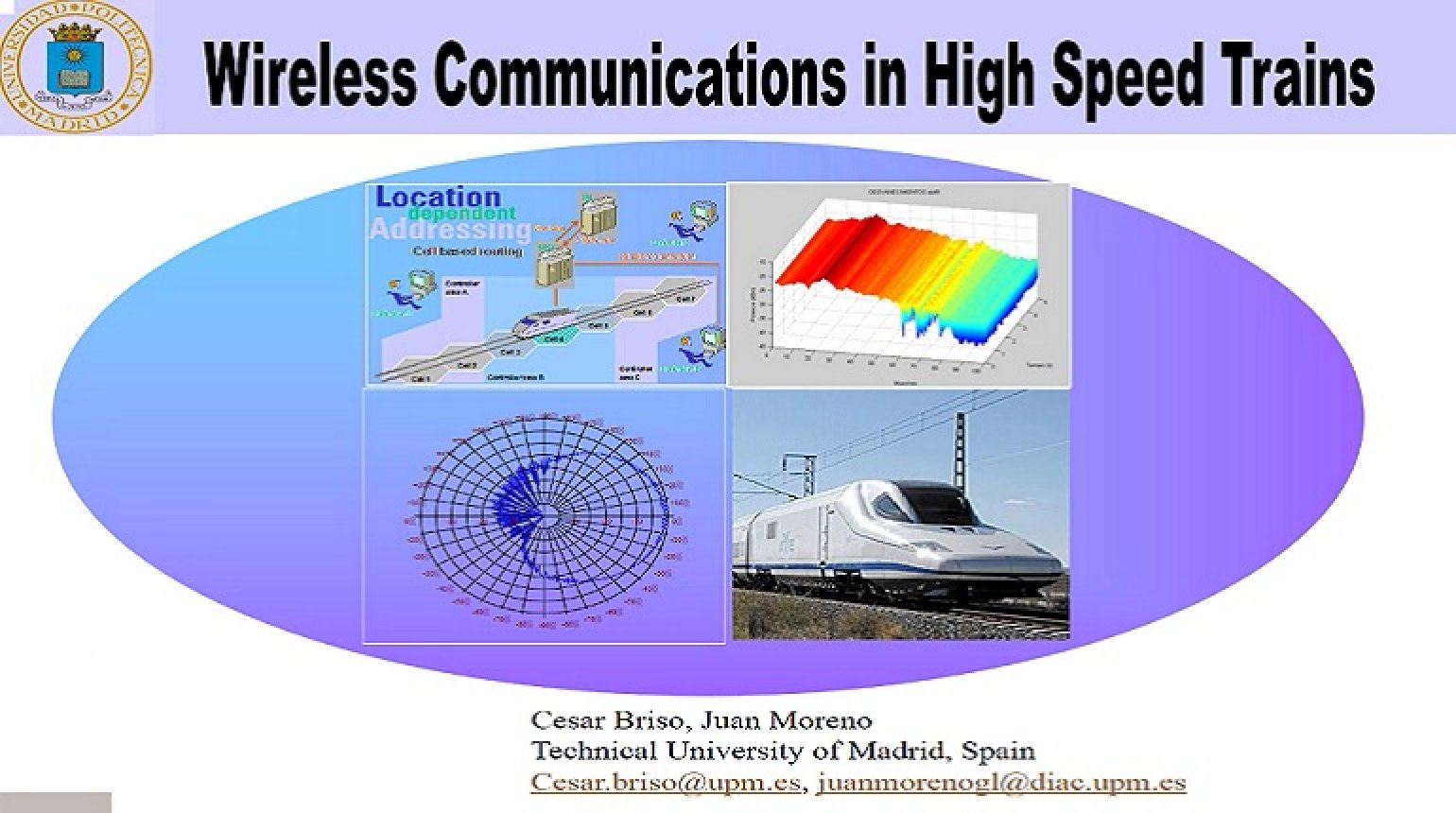 Video - Wireless Communications in High Speed Trains