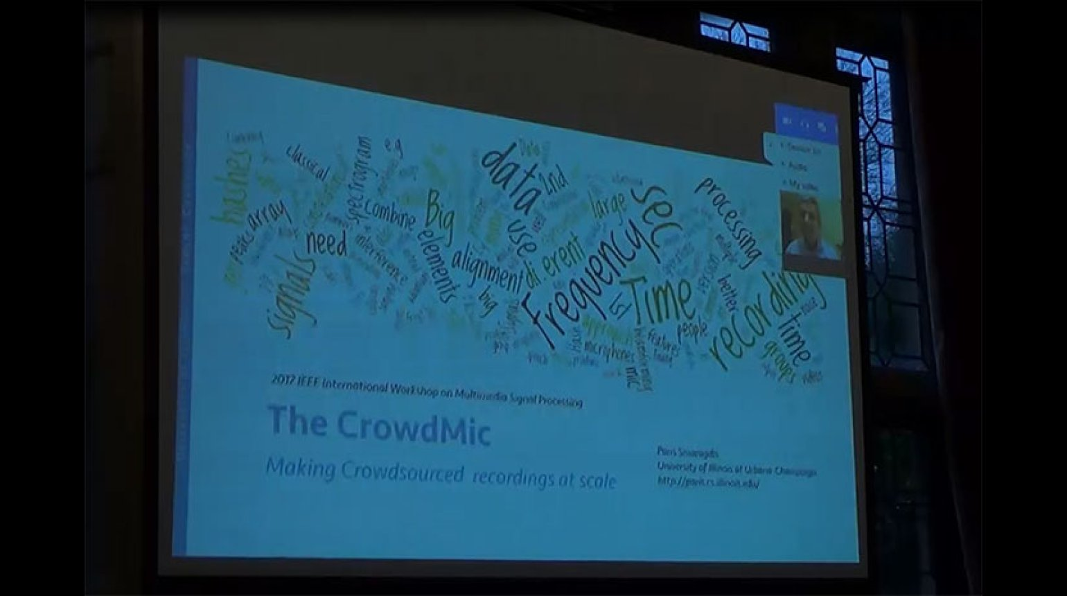MMSP 2017: The CrowdMic: Making Crowdsourced Recordings at Scale
