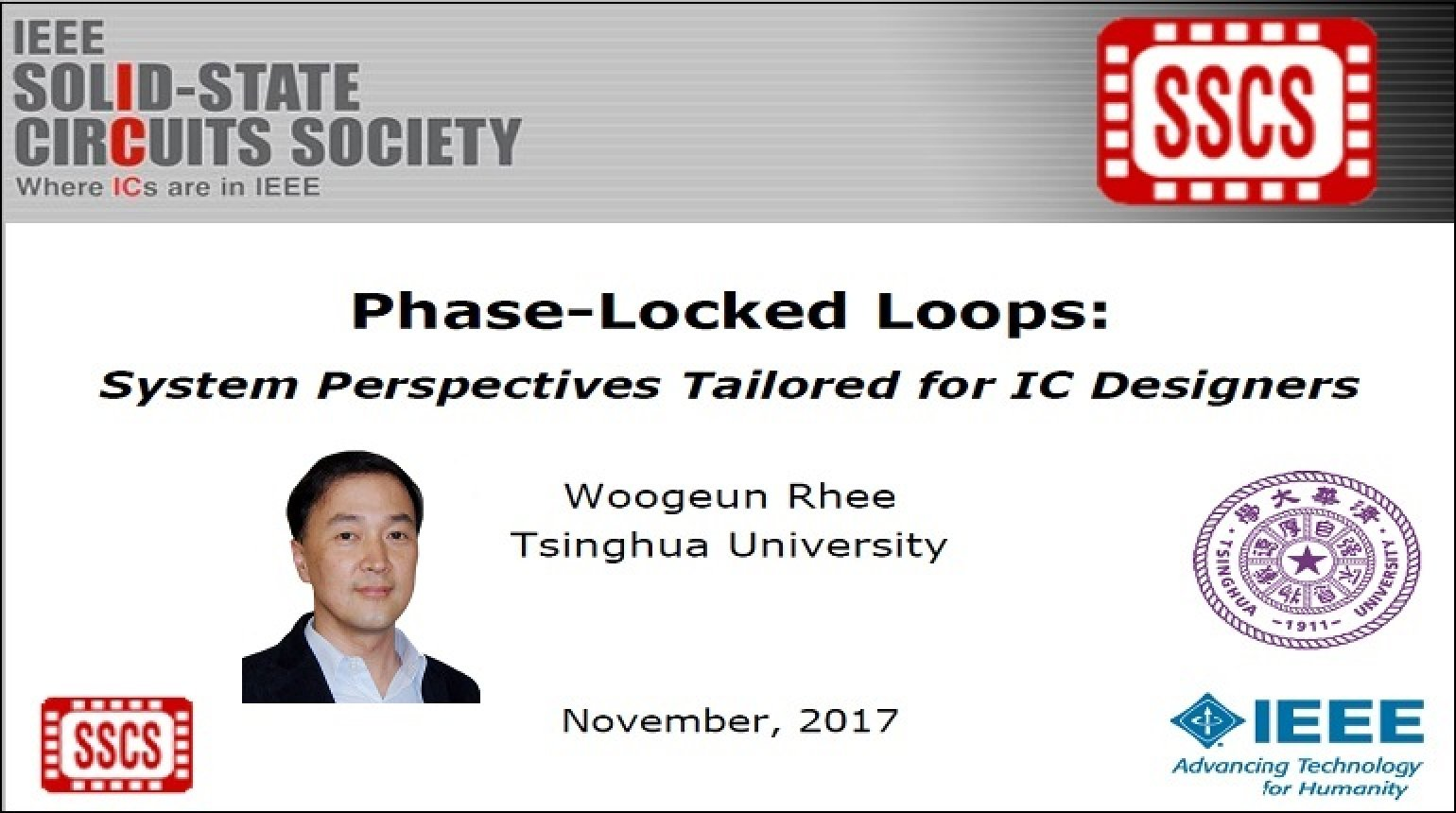 Phase-Locked Loops: System Perspectives Tailored for IC Designers Video