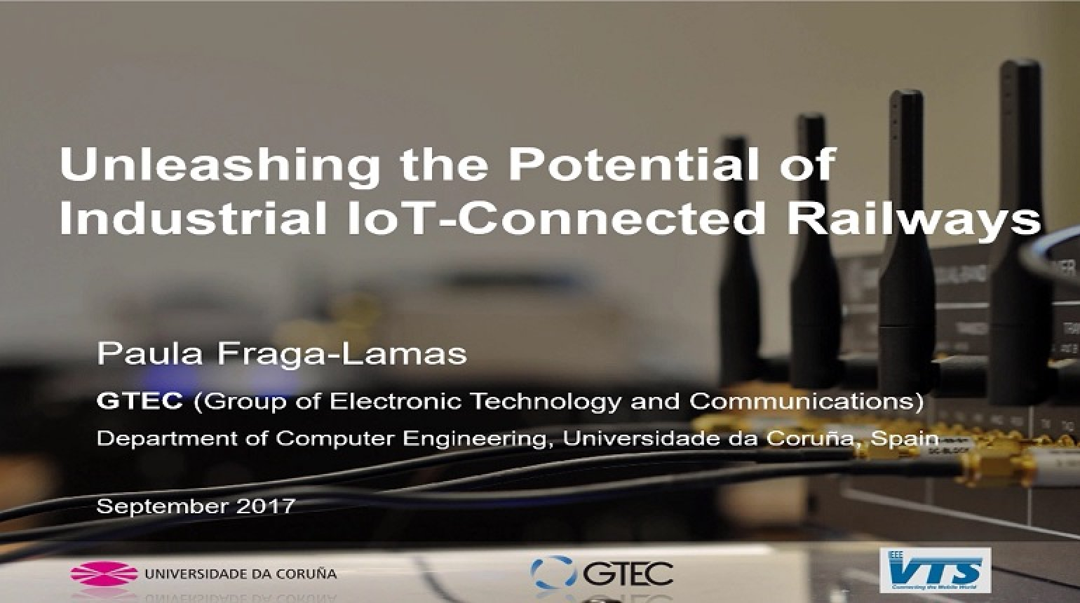 Video - Unleashing the Potential of Industrial IoT-Connected Railways